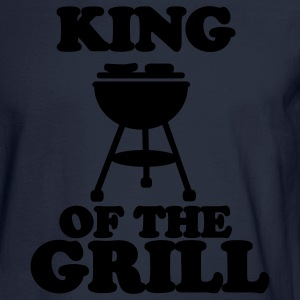 Navy Grill T-Shirts - Men's Long Sleeve T-Shirt