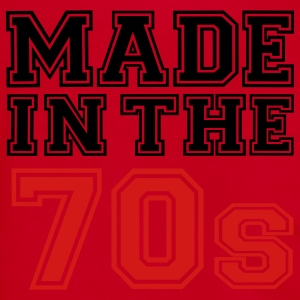 Red Made in the 70's Women's T-Shirts - Unisex Fleece Zip Hoodie by American Apparel