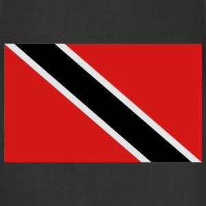 Black trinidad and tobago T-Shirts - Adjustable Apron