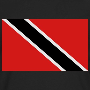 Black trinidad and tobago T-Shirts - Men's Premium Long Sleeve T-Shirt