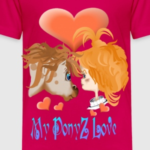My PonyZ Love Lettered - Toddler Premium T-Shirt