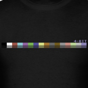 Black colorPalette64 Long Sleeve Shirts - Men's T-Shirt