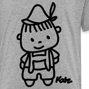 Heather grey Little Boy Sweatshirts - Toddler Premium T-Shirt