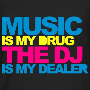Black Music Is My Drug V4 Women's T-Shirts - Men's Premium Long Sleeve T-Shirt
