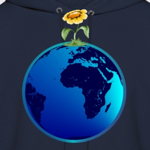 Earth N Flower - Men's Hoodie