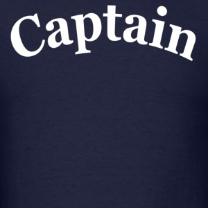 Navy CAPTAIN Hoodies - Men's T-Shirt