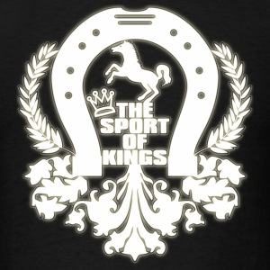 The_Sport_Of_Kings - Men's T-Shirt