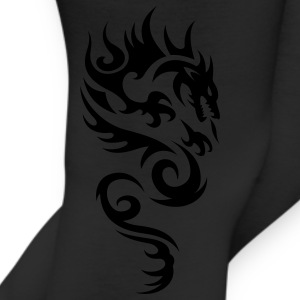 Brown tribal dragon T-Shirts - Leggings