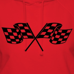 Red racing flags T-Shirts - Women's Hoodie