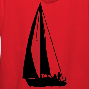 Red sailboat T-Shirts - Women's Hoodie