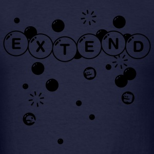Navy Extend Hoodies - Men's T-Shirt