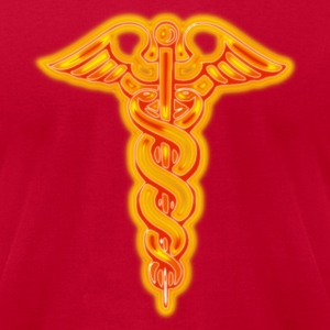 Caduceus - Men's T-Shirt by American Apparel