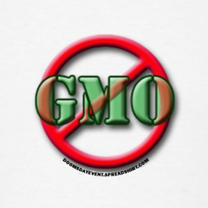 No GMO large buttons - Men's T-Shirt