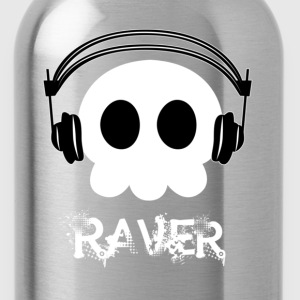 Black Raver - Dark Women's T-Shirts - Water Bottle