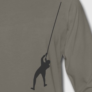Khaki climbing T-Shirts - Men's Premium Long Sleeve T-Shirt