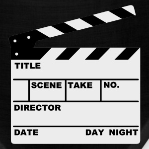 Khaki clapperboard (writable flex) T-Shirts - Bandana