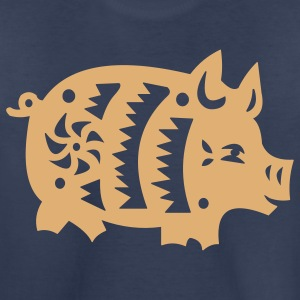 Navy  pig Kids' Shirts - Toddler Premium T-Shirt