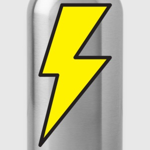 Red lightning bolt T-Shirts - Water Bottle