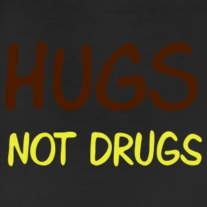 Brown hugs not drugs Women's T-Shirts - Leggings