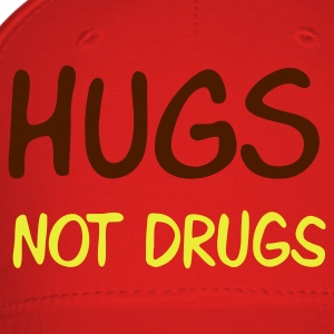 Brown hugs not drugs T-Shirts - Baseball Cap