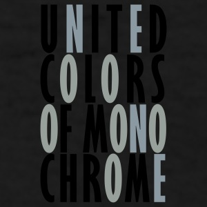 Black United Colors of Monochrome Caps - Men's T-Shirt