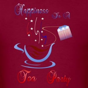 Happiness Is A Tea Party - Men's T-Shirt