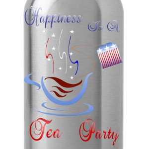 Happiness Is A Tea Party - Water Bottle