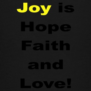 Joy is hope faith and love - Toddler Premium T-Shirt