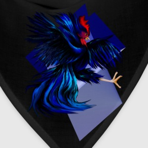 Black Fighting Rooster - Bandana