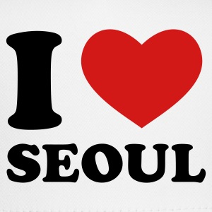 White I Love Seoul Women's T-Shirts - Trucker Cap