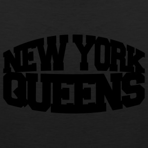 Black new york queens Women's T-Shirts - Men's Premium Tank