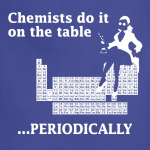 Navy Chemist Do It On the Table Women's T-Shirts - Adjustable Apron
