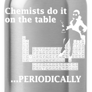 Navy Chemist Do It On the Table Women's T-Shirts - Water Bottle
