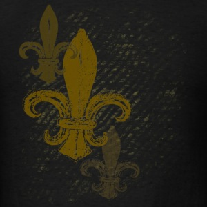 Three Fleur De Lis - Men's T-Shirt