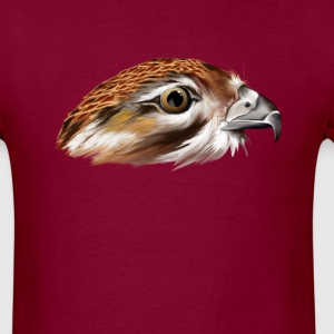 Hawk Face - Men's T-Shirt