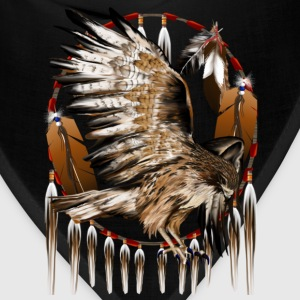 Flying Hawk Dreamcatcher - Bandana