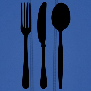 Royal blue Cutlery T-Shirts - Men's Hoodie