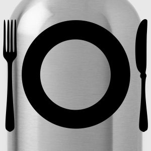 Olive Cutlery - Plate T-Shirts - Water Bottle