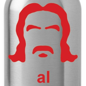 Al Swearengen Hirsute Silhouette - Water Bottle