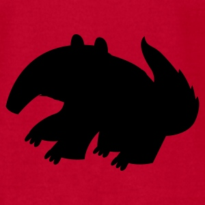 Red ANTEATER SHAPE Baby Body - Men's T-Shirt by American Apparel