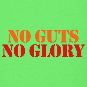Mint green NO GUTS NO GLORY Baby Body - Men's T-Shirt