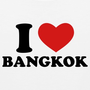 White I Love Bangkok Women's T-Shirts - Men's Premium Tank