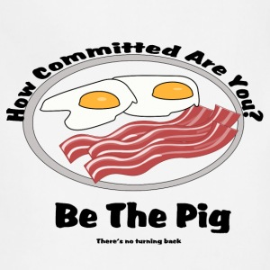 Be the pig! Commitment - Adjustable Apron