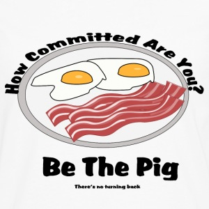 Be the pig! Commitment - Men's Premium Long Sleeve T-Shirt