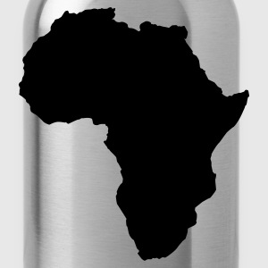 Heather grey AFRICA  Long Sleeve Shirts - Water Bottle