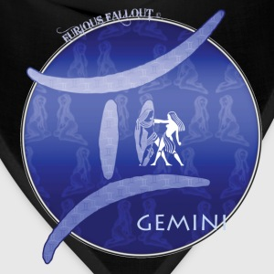 Royal blue gemini T-Shirts - Bandana