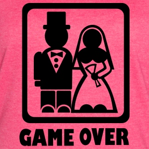 Fuchsia Game over Tanks - Women's Vintage Sport T-Shirt