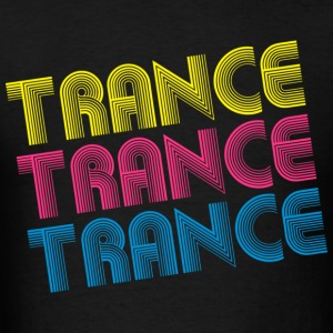 Black Fancy Trance Hoodies - Men's T-Shirt