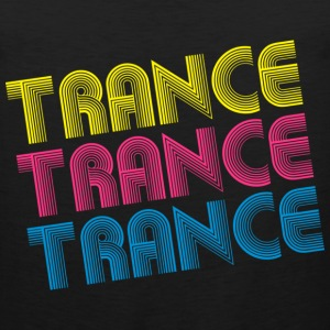 Black Fancy Trance Kids' Shirts - Men's Premium Tank