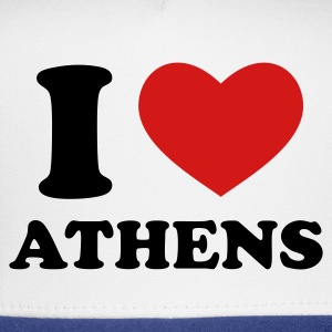 White I Love Athens T-Shirts - Trucker Cap